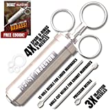Grill Beast - 304 Stainless Steel Meat Injector Kit with 2-oz Large Capacity Barrel and 3 Professional Marinade Needles