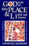 God Was in This Place and I, I Did Not Know: Finding Self, Spirituality and Ultimate Meaning (1879045338) by Kushner, Lawrence
