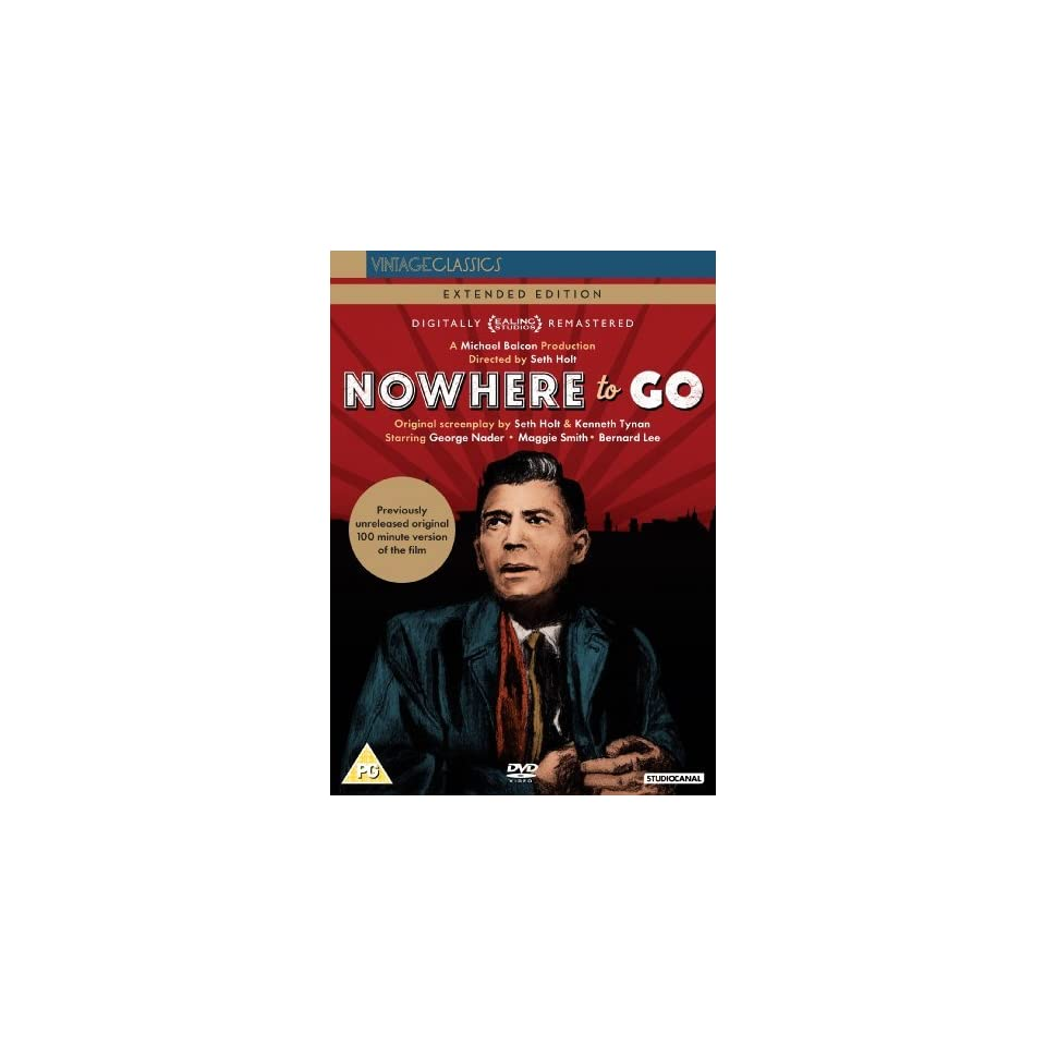 Nowhere to Go [ NON USA FORMAT, PAL, Reg.2 Import   United Kingdom ]