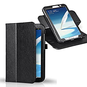 ForeFront Cases® Samsung Galaxy Note 8.0 Luxury Leather Case / Cover Stand for Samsung Galaxy Note 8.0 with Magnetic Auto Sleep Wake Function