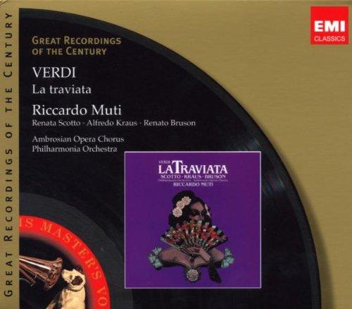 La Traviata - VERDI -   CD