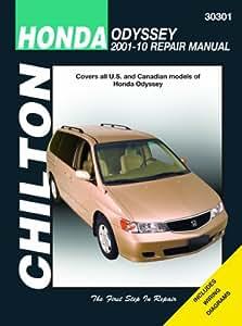 Honda Odyssey Chilton Repair Manual (2001-2010)