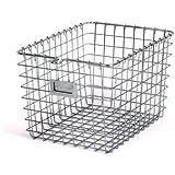 Spectrum Diversified 47870 Storage Basket, Small, Chrome