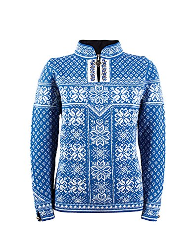 dale-of-norway-pull-pour-femme-peace-couleur-bleu-cobalt-blanc-casse-taille-m-13311-h