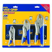 Irwin Tools 1771882 Vise-Grip Fast Release Locking Pliers Kitbag Set, 3-Piece