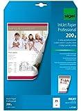 Sigel IP681 Papier jet d'encre pour Impression recto-verso Format A4 25 feuilles 200 g Blanc