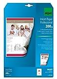 Sigel IP681 Papier jet d'encre pour Impression recto-verso Format A4 25 feuilles 200 g Blanc...