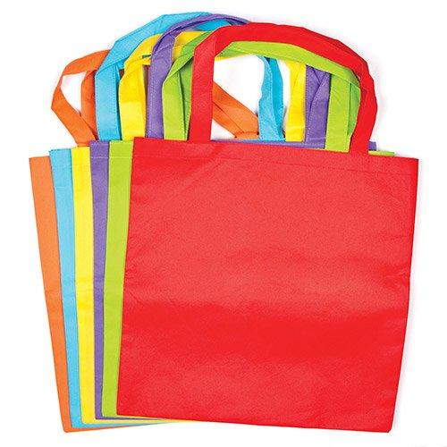 Bunte-Schultertaschen-aus-Stoff-fr-Kinder-und-Erwachsene-zum-Basteln-und-Gestalten-6-Stck