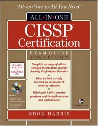 CISSP All-in-One Exam Guide, Third Edition (All-In-One Certification)