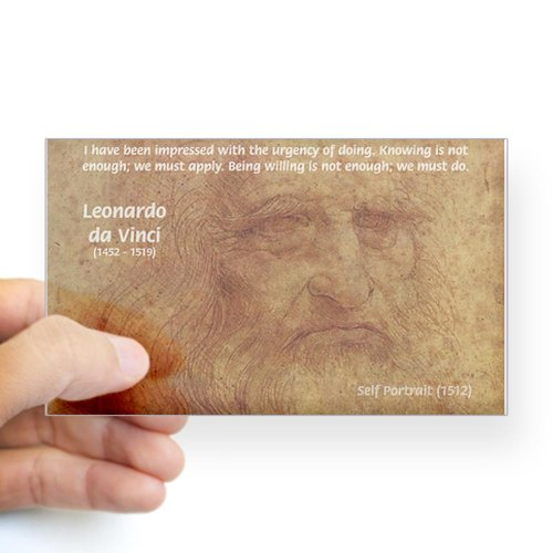 Da Vinci Quote back-1077452