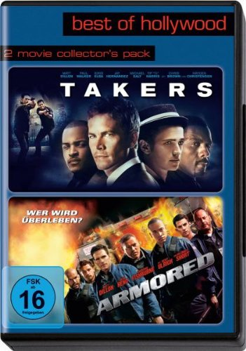 Best of Hollywood 2012 - 2 Movie Collector's, Pack 125 (Armored / Takers) [2 DVDs]
