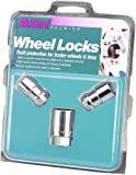 McGard 74042 Chrome Cone Seat Trailer Wheel Locks (1/2
