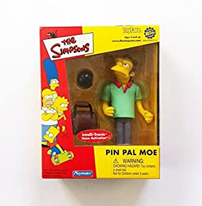 The Simpsons ToyFare Exclusive Playmates Pin Pal Moe