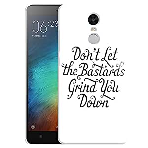 Theskinmantra Grind Studs back cover for Redmi Note 3