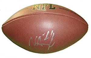 Nnamdi Asomugha Autographed Signed NFL Wilson Composite Football, San Francisco...