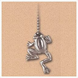 Westinghouse 7763800 Lighting Brushed Nickel Frog Pull Chain
