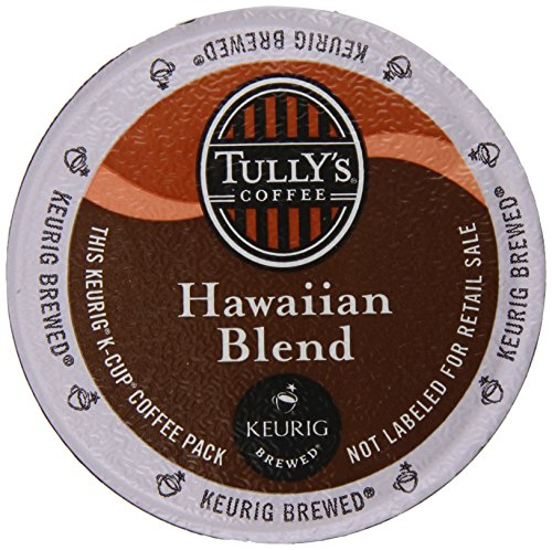 Tully's Coffee Hawaiian Blend K-Cups, 80 Count (K Cups Coffee Hawaiian Blend compare prices)