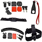 AFUNTA 16-in-1 Accessories Bundle Kit Ultimate Combo For GoPro Hero 4 Hero 3+ Hero 3 Hero 2 Digital Camera