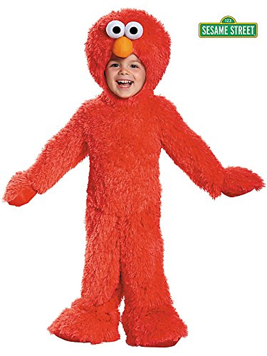 Sesame Street Elmo Extra Deluxe Plush Costume for Toddler