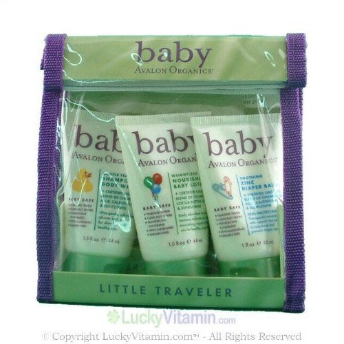 AVALON ORGANIC BOTANICALS Baby Avalon Organics Little Traveler 4 pc