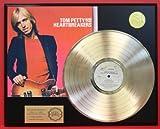 "Tom Petty ""Damn The Torpedoes"" Gold LP Record LTD Edition Display"