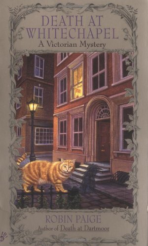 Death At Whitechapel (Robin Paige Victorian Mysteries, No. 6)