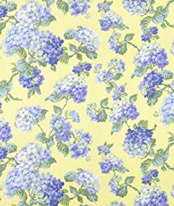 Waverly Rolling Meadow Blue Jay Fabric - by the Yard