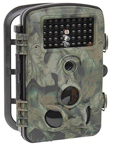 Selltex 12 MP Wildkamera Kompaktkamera Fotofalle mit Bewegungsmelder WK3 Full HD Komplett mit Speicherkarte & Batterien