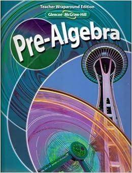 mcgraw hill pre algebra textbook pdf