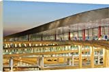 51jxr09bV9L. SL160  Box Canvas Print of Beijing Capital Airport, part of new Terminal 3 building opened February 2008, from Robert Harding