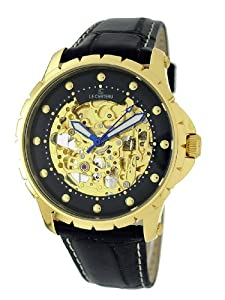 Le Chateau Men's GG326AU_BLK See-Thru Automatic Collection Watch