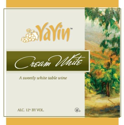 Nv Yayin Cream White Kosher Wine 1.5 L