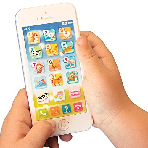Childrens Smartphone Educational Toy Learn Numbers Spelling Alphabet Math