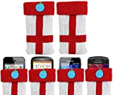 ITALKonline UNIVERSAL ST GEORGE Sock Case Cover Pouch With Detachable Strap Samsung E2121B