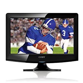 Coby LEDTV1526 15-Inch 720p HDMI LED TV/Monitor, Black