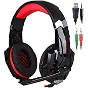 KOTION EACH G9000 3.5mm Game Gaming Headphone Headset Earphone Headband With Microphone LED Light For Laptop Tablet...