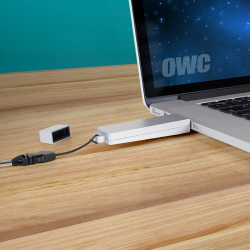 OWC120GB Envoy Pro Mini Ultra-Portable SSD. Delivers Desktop-Class Performance in a Tiny Thumb Drive Form-Factor. Tier 1, Premium-Grade NAND Flash. Model OWCENVMKU3S120