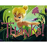 Disney's Tinker Bell Thank-You Notes, 8-Count  Packages (Pack of 6)