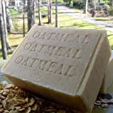 SOAP-Oatmeal with Brazilian (Mango Butter)- 1- Bar Soap - Fragrance Free - Old Fashioned Fresh Organic Ground Oatmeal ~ Natural Handcrafted...