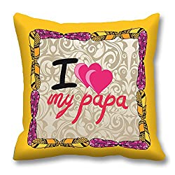 meSleep Love Papa Cushion Cover (16x16)