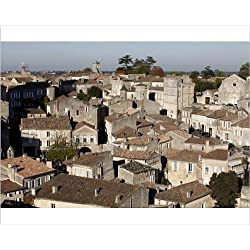 Photographic Print of St. Emilion village, Gironde, France, Europe
