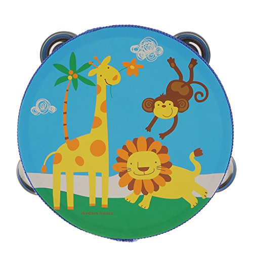 wood-tambourines-drum-bell-toy-kids-musical-percussion-instrument-toy-forest