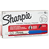Sharpie Retractable Ultra Fine Point Permanent Markers, Blue.