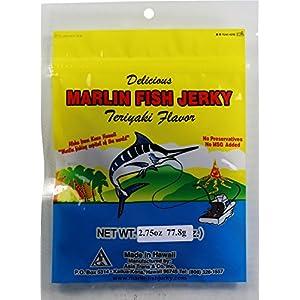 Teriyaki Marlin Jerky 2.75 oz Bag