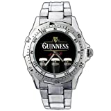New Fashion WE84 Guinness Beer Draught Stainless Steel Wrist Watch