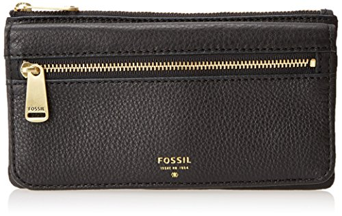 Fossil Preston Flap Wallet, Black, One Size (Fossil Preston Leather Flap compare prices)