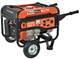 DuroMax Elite MX4500 4,500 Watt 7 HP OHV 4-Cycle Gas Powered Portable Generator With Wheel Kit