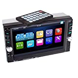 [BLACK FRIDAY] Putars HD 6.6 Inch Car MP5 Player Bluetooth TFT Touch Screen Remote Control Video Audio 1080P Movie Bluetooth Hands Free Rear Camera Support SD/USB/Aux Input Output