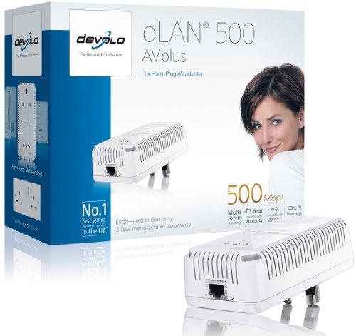Devolo dLAN 500 AVplus (IEEE 1901/ HomePlug AV) Ethernet