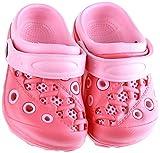 Lilsta Unisex Pink Rubber Sandals- 29